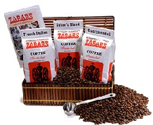 Zabar's Emporium featuring fine coffees and teas
